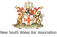 NSW Bar Association logo.