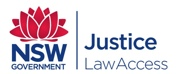 Logo of NSW Government Justice.